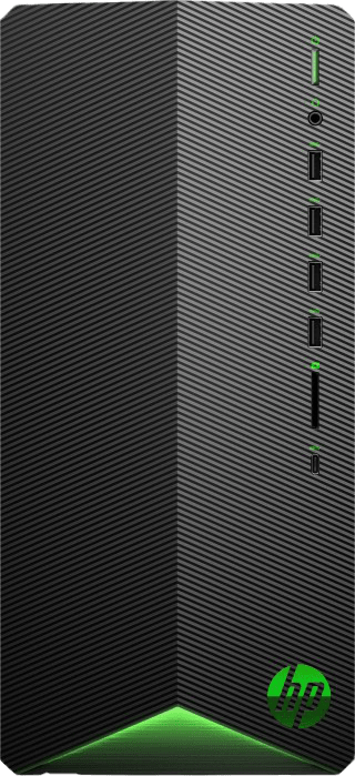 Black HP Pavilion TG01-2003ng - Gaming Desktop - AMD Ryzen™ 7 5700G - 16GB - 1TB SDD - NVIDIA® GeForce® RTX 3060 Ti.1