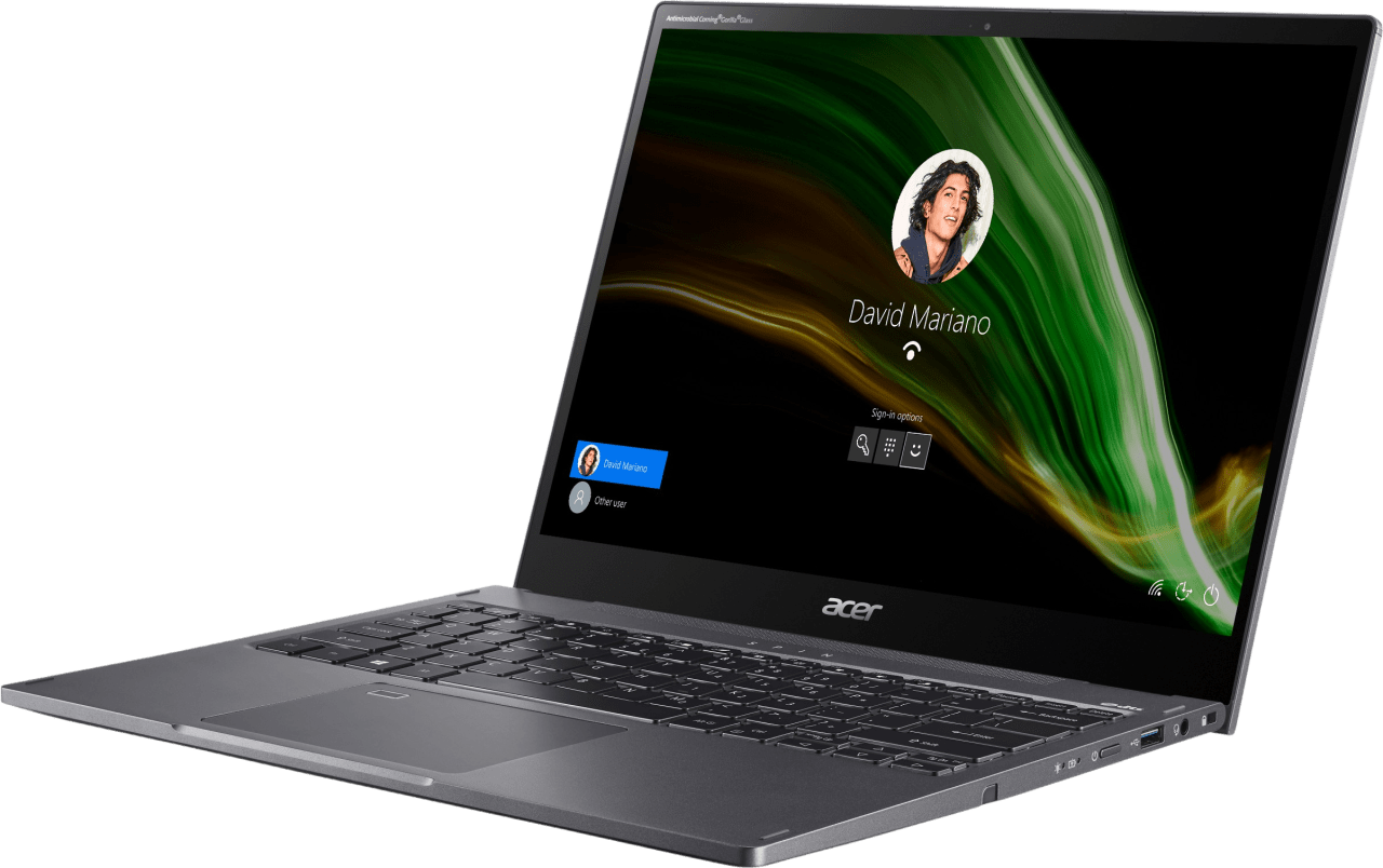 Grey Acer Spin 5 SP513-55N-771F Convertible - Intel® Core™ i7-1165G7 - 16GB - 1TB SSD - Intel® Iris® Xe Graphics.4