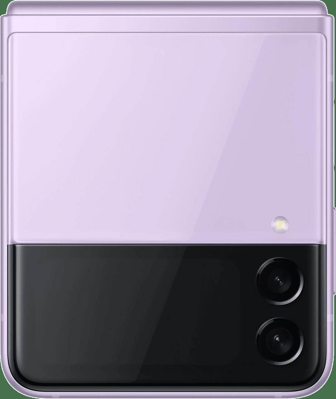 Lavender Samsung Smartphone Galaxy Flip 3 - 128GB - Single Sim.4