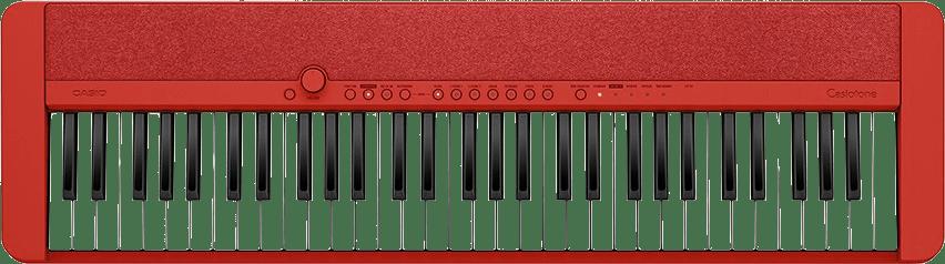 Rojo Piano digital portátil de 61 teclas Casio CT-S1.1