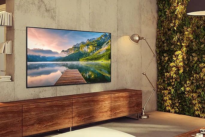 Schwarz Samsung TV 75 Zoll GU75AU8079UXZG LED UHD 4K.4