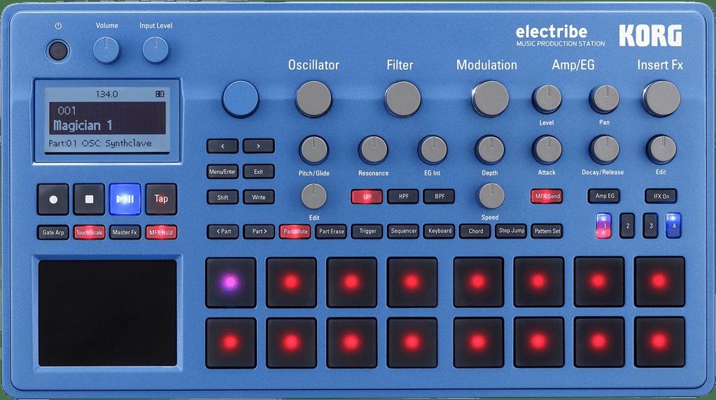 Black Estación de producción musical portátil Korg Electribe.1