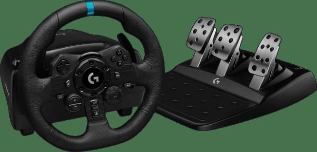 Black Logitech G923 Gaming Wheel (Playstation + PC).1
