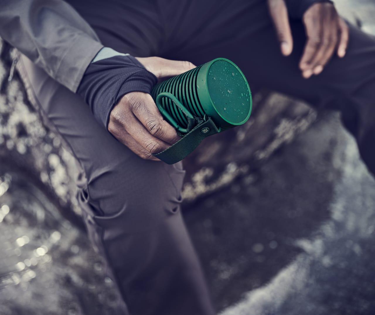 Grün Bang & Olufsen Beosound Explore Tragbarer Bluetooth-Lautsprecher.5