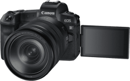 CANON EOS R Kit with RF24-105MM F4.0 and EF-EOS R Adapter