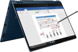 Lenovo ThinkBook 14s Yoga Convertible - Intel® Core™ i5-1135G7 - 8GB - 256GB SSD - Intel® Iris® Xe Graphics