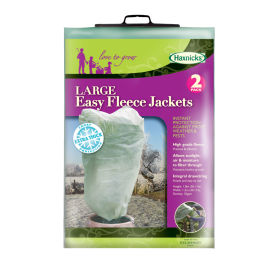 Easy Fleece Jackets - Large (Pack of 2)
