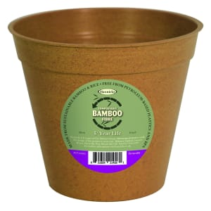 "8"" Bamboo Pots - Terracotta"