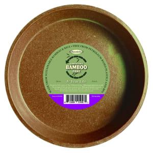 """Bamboo 8"""" Saucer - Terracotta"""