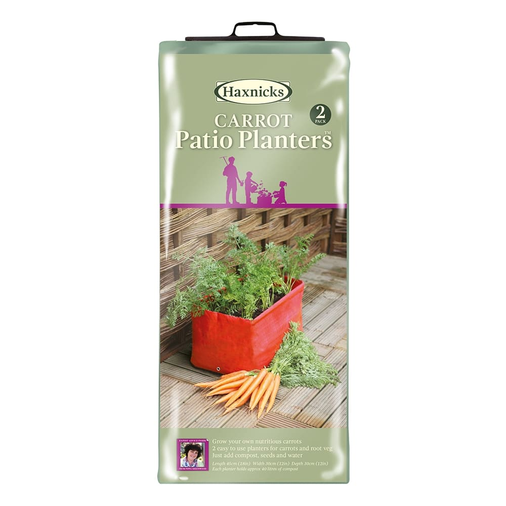 Carrot Patio Planter Haxnicks