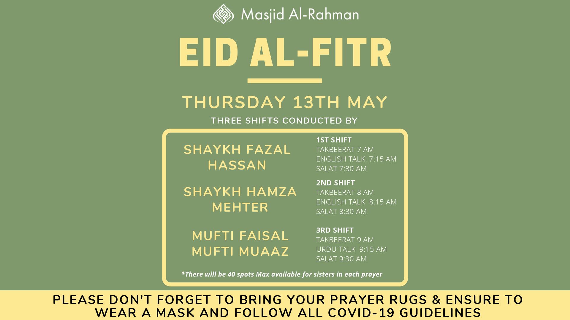 Eid Al-Fitr 2021