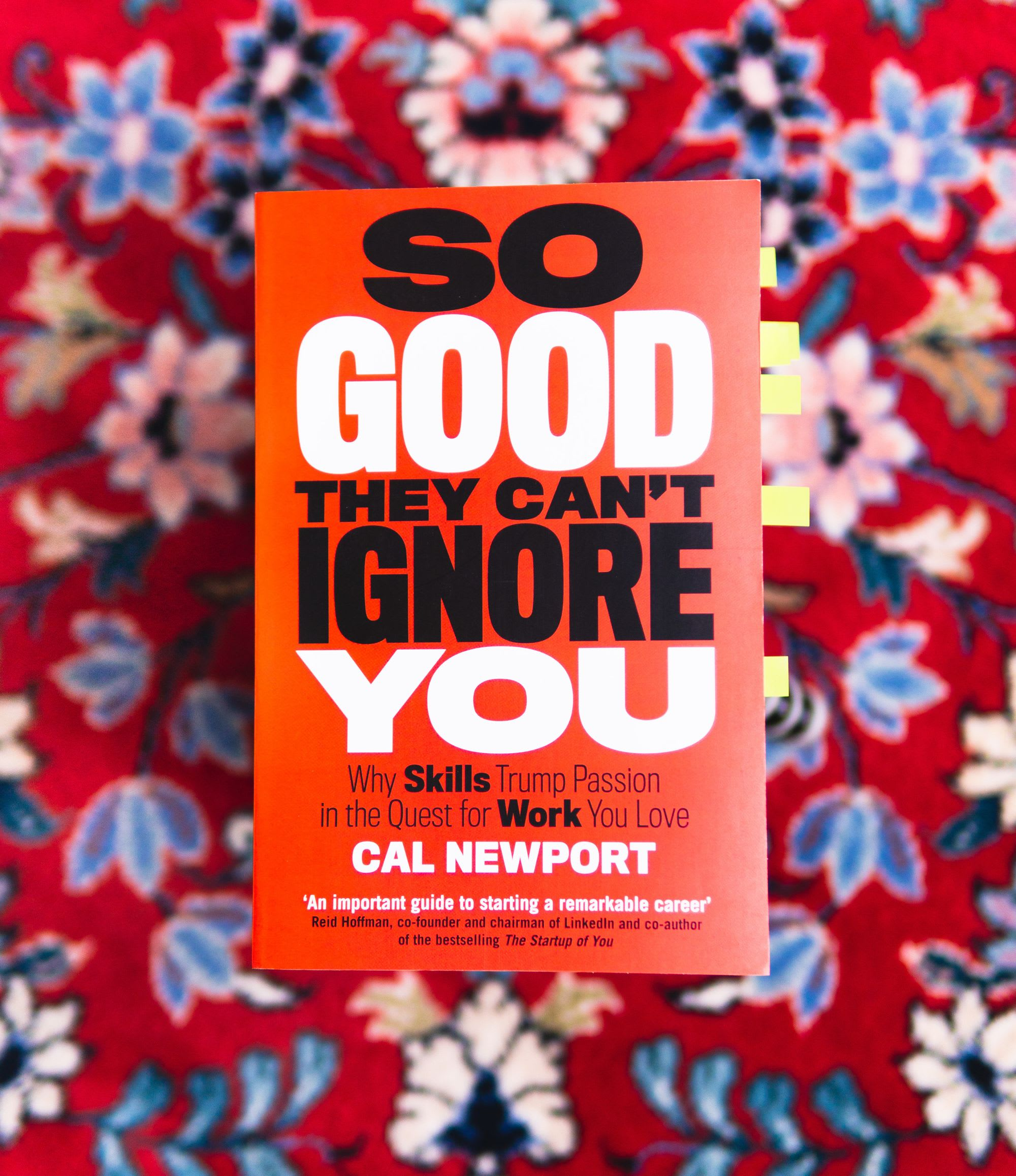 """Cal Newport - """"So Good They Can't Ignore You""""  - QuickSummary"""