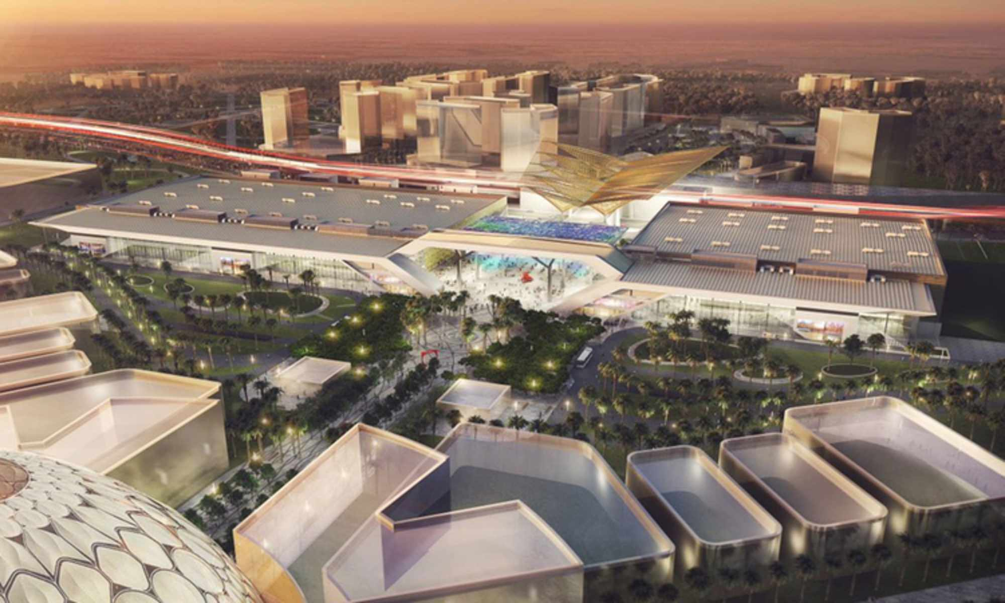 Dubai  Exhibition Centre at Expo 2020