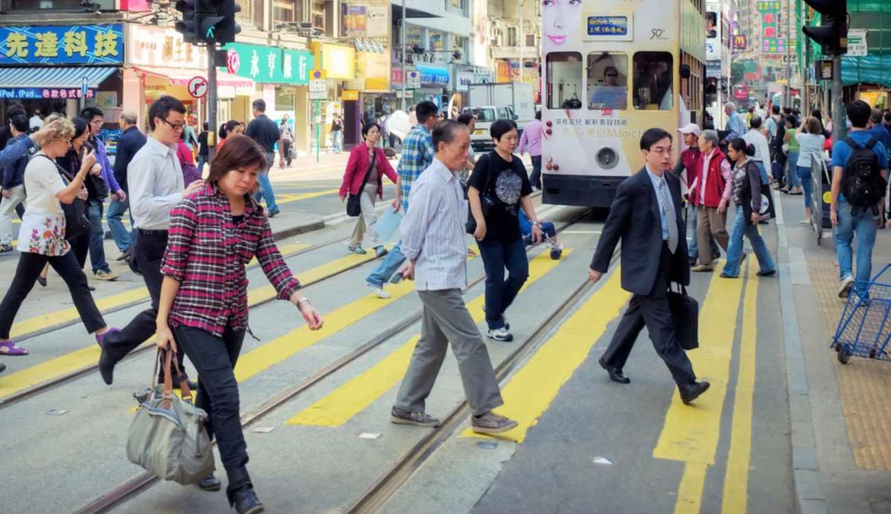 Hong Kong Pedestrian Study