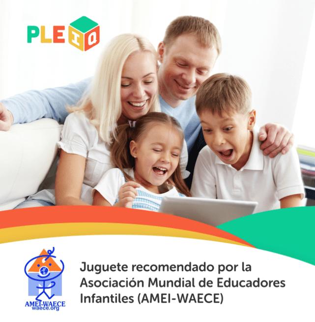 PleIQ es recomendado por la Asociación Mundial de Educadores Infantiles