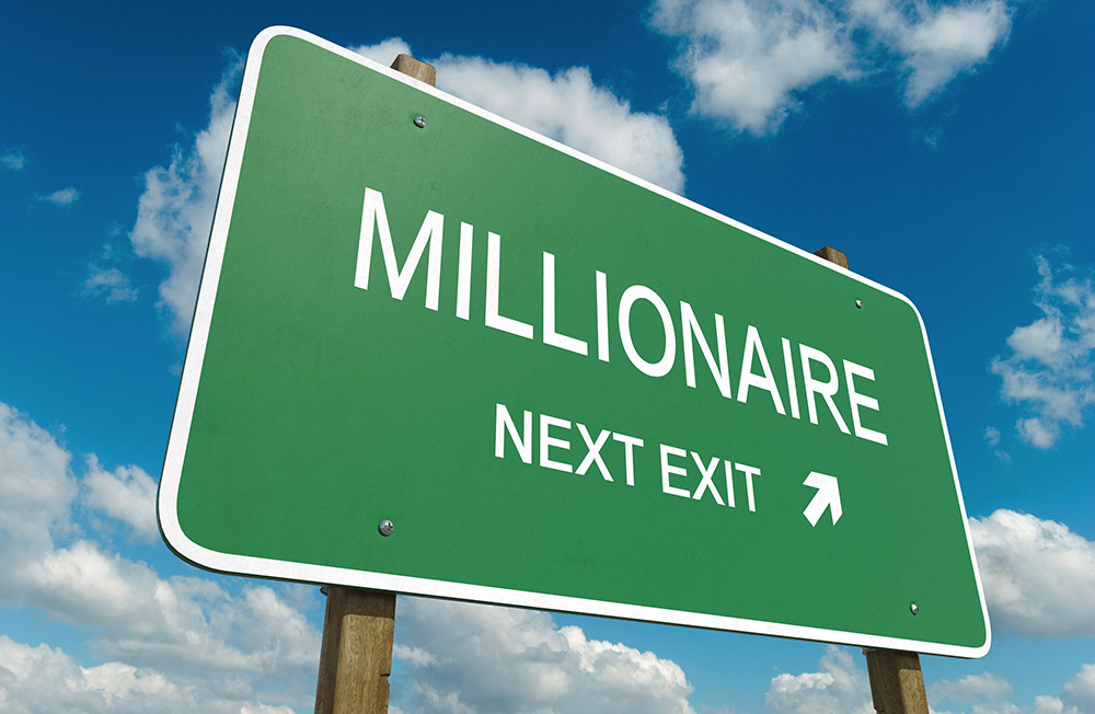 How to Become a Millionaire: The 10% Rule