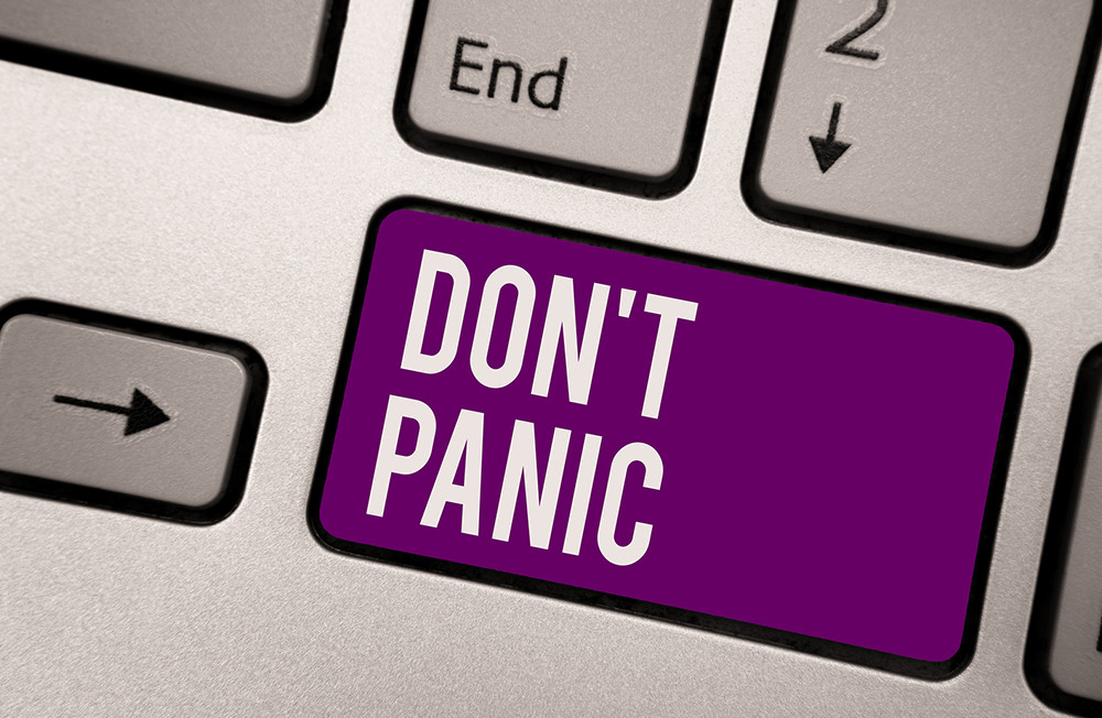 Yes, markets are shaky right now but don't panic!