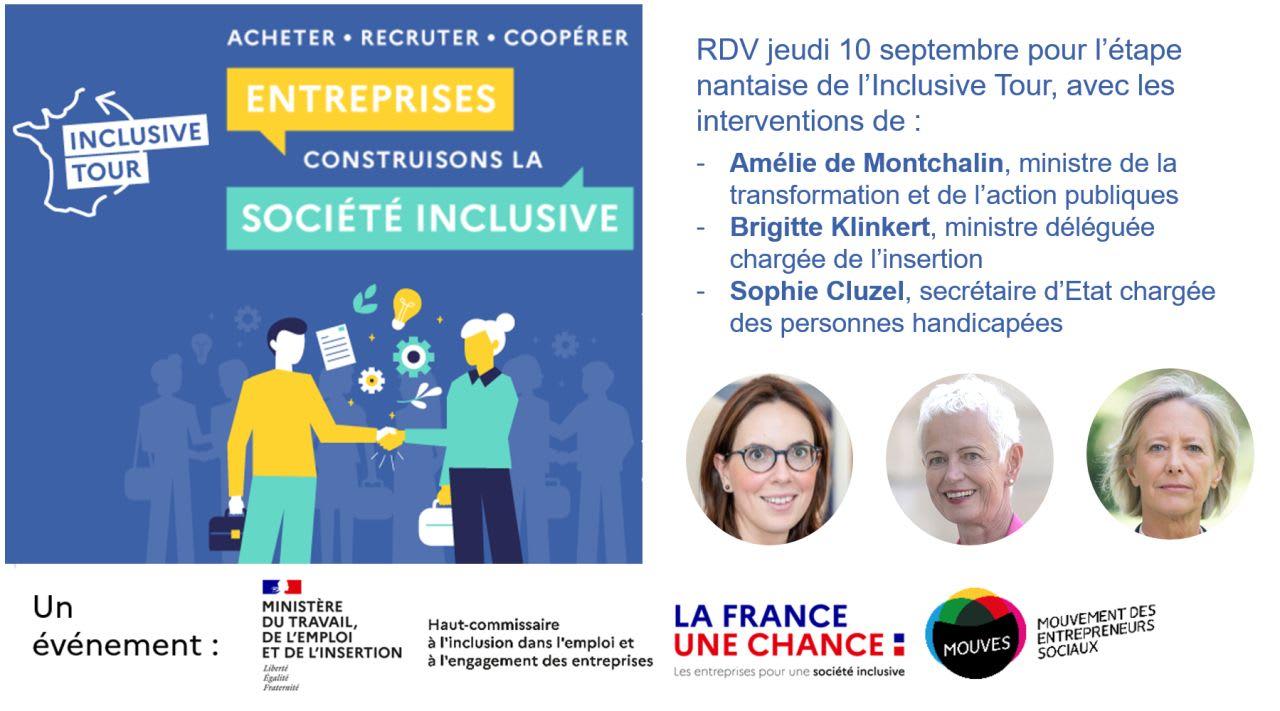 Etape à Nantes pour l'Inclusive Tour !