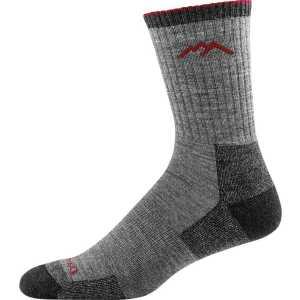 Darn Tough 1466 Hiker Micro Crew Cushion Socks - Charcoal
