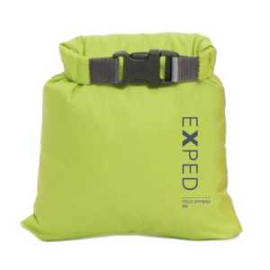 Exped Ultralite Dry Fold Bag - XXS - Lime