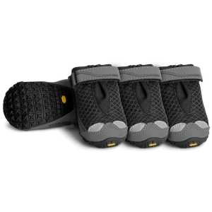 Ruffwear Grip Trex All Terrain Dog Paw Shoes 4 Pack - Obsidian Black