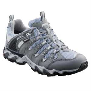 Meindl Respond Lady GTX Walking Shoes - Light Grey/Sky