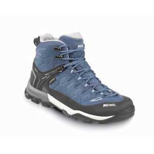 Meindl Tereno Lady Mid GTX Walking Boots - Blue/Light Grey
