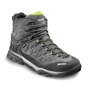Meindl Tereno Mid GTX Walking Boots - Grey/Lime