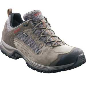 Meindl Journey Pro GTX Wide Fit Walking Shoes - Reed/Red