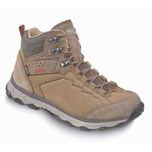 Meindl Grado Lady GTX Wide Fit Walking Boots - Brown/Red