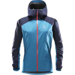 Haglofs Womens Esker Waterproof Jacket - Blue Fox/Tarn Blue