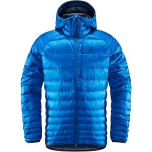 Haglofs Men's Essens Down Hooded Jacket - Storm Blue/Tarn Blue