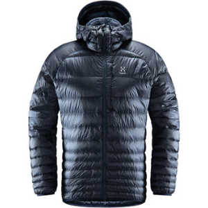 Haglofs Men's Essens Down Hooded Jacket - Dense Blue/Tarn Blue