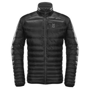 Haglofs Essens Insulated Down Jacket - True Black/Magnetite