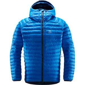 Haglofs Men's Essens Mimic Hooded Jacket - Storm Blue/Tarn Blue