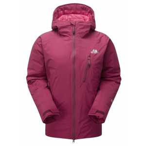 Mountain Equipment Womens Triton Waterproof Insulated Down Jacket - Cranberry