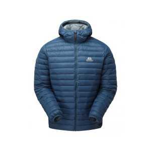 Mountain Equipment Arete Mens Insulated Hooded Jacket - Denim Blue