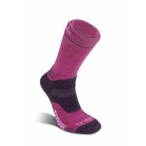 Bridgedale Womens Trekker Midweight Wool Fusion Socks - Purple