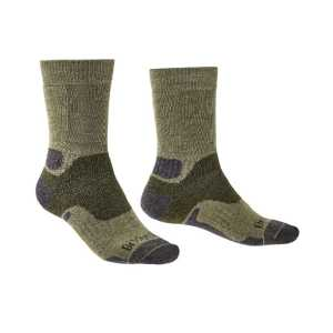 Bridgedale Hike Midweight Merino Performance Socks - Green