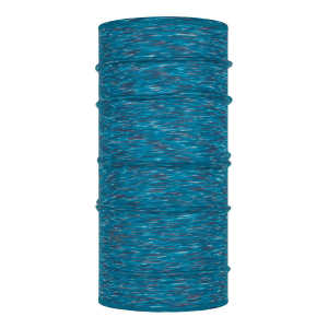 Buff Kids Lightweight Merino Wool Tubular - Ice Multi Stripes