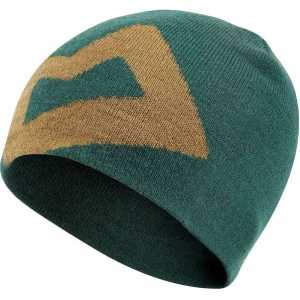 Mountain Equipment Branded Knitted Beanie Hat - Conifer/Fir Green