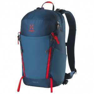 Haglofs Spira 20 Litre Rucksack - Blue Ink/Pop Red