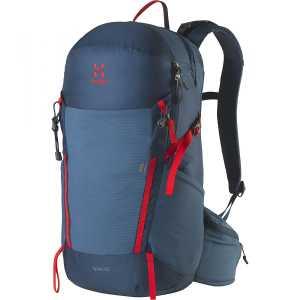 Haglofs Spira 25 Litre Medium/Large Back Rucksack - Blue Ink/Pop Red