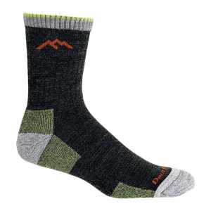 Darn Tough 1466 Hiker Micro Crew Cushion Socks - Lime