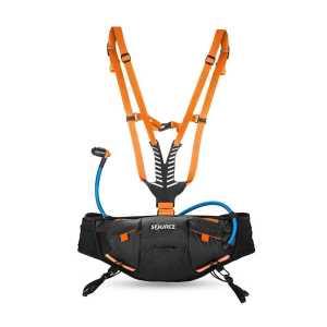 Source Hipster Hydration Belt - Black/Orange