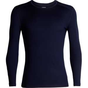 Icebreaker 260 BodyFit Tech Long Sleeve Crewe - Midnight Navy