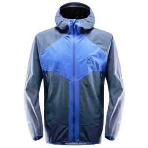 Haglofs Mens L.I.M Proof Multi Waterproof Jacket - Cobalt Blue/Tarn Blue