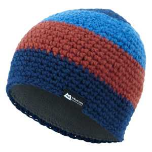 Mountain Equipment Flash Beanie Hat - Navy/Light Ocean/Henna