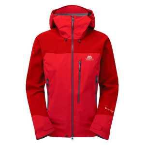 Mountain Equipment Womens Manaslu GTX Pro Waterproof Jacket - Imperial Red/Crimson