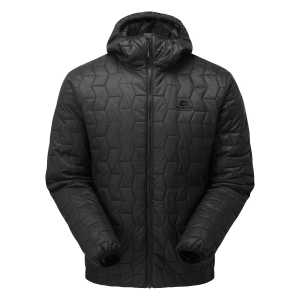 Mountain Equipment Rampart Hooded Insulated Jacket - Black